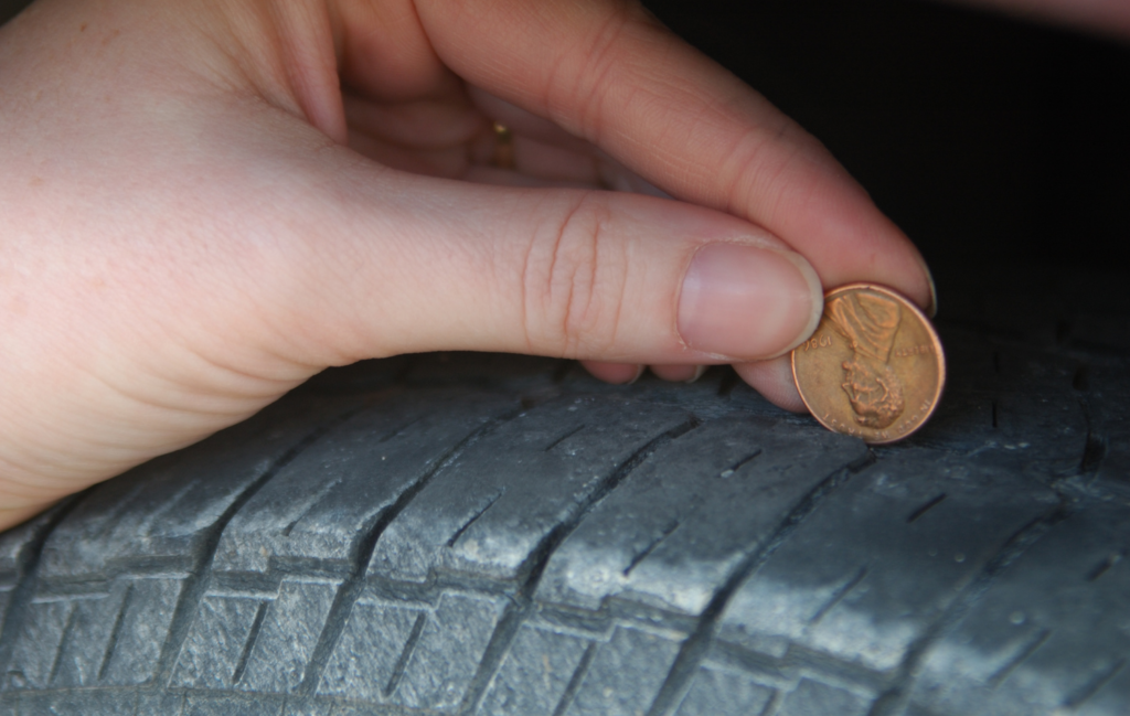 Testing Your Tire Tread Only Costs a Penny