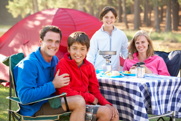 You Can Camp and Have You're Thanksgiving Meal, Too